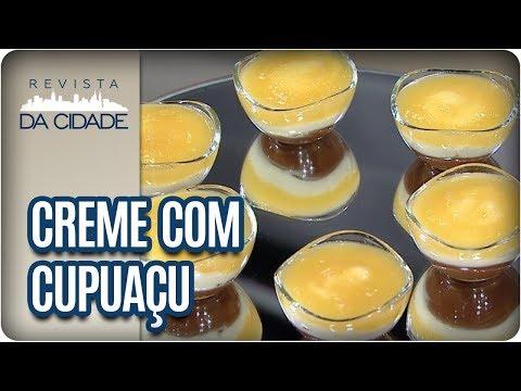Receita De Creme Gelado Com Cupuaçu - Revista Da Cidade (27/10/2017)