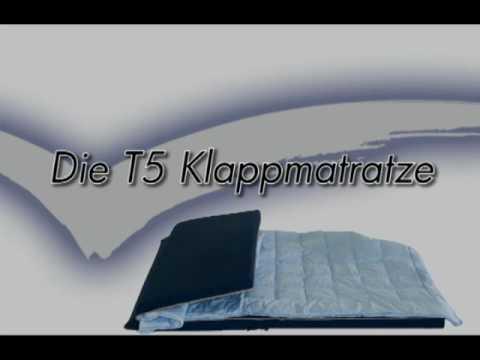 fanello vw t5 matratze youtube. Black Bedroom Furniture Sets. Home Design Ideas
