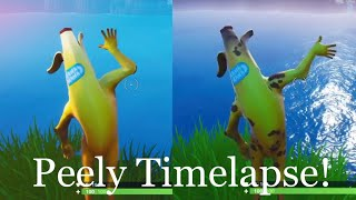 Fortnite PEELY SKIN Timelapse! | Fortnite Battle Royale