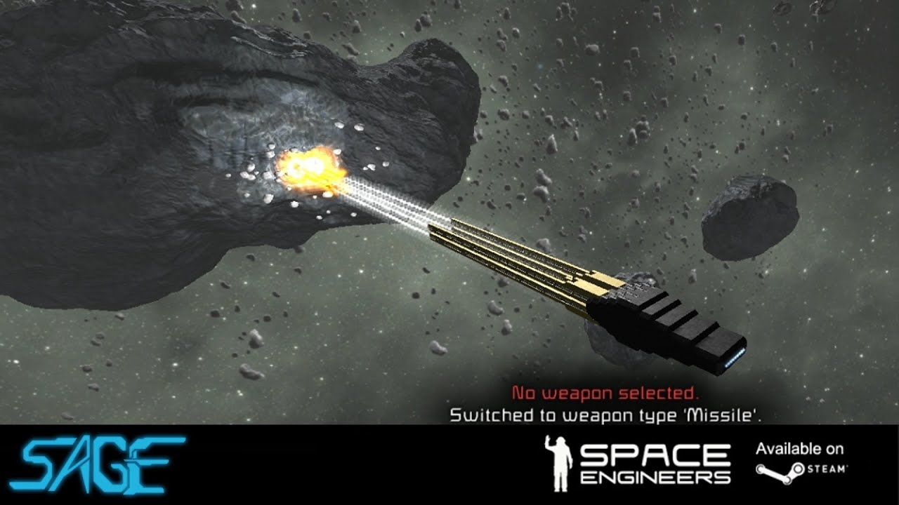 Space Engineers Building Small Mining Ship