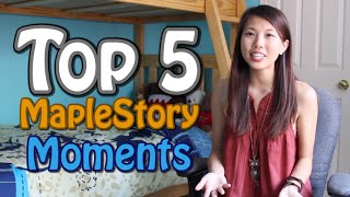 My TOP 5 'Fail' MapleStory Moments