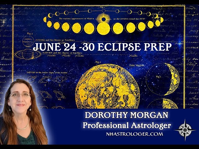 #Eclipse Prep Time June 24th – 30th 2019 Old Patterns Surfacing #astrology