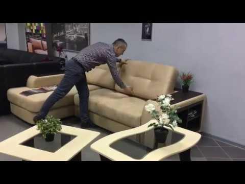 Угловой диван повышенной комфортности Премиум на нпб и дельфин