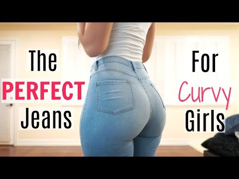 The PERFECT Jeans For Curvy Girls! | Bri Martinez http://bit.ly/2WCYBow