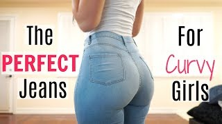 The PERFECT Jeans For Curvy Girls! | Bri Martinez