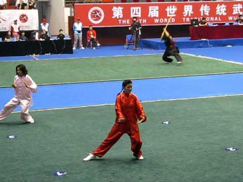 M4th International Wushu Competition - Fiona Lim