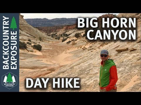 Big Horn Canyon Day Hike | Grand Staircase Escalante National Monument