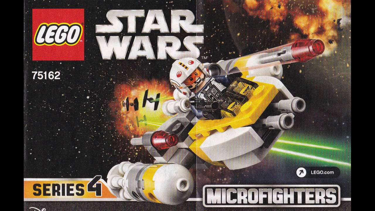 Lego 75162 Star Wars Y Wing Building Instructions Youtube