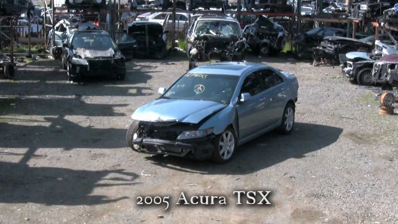 Acura TSX Parts AUTO WRECKER RECYCLER Ahpartscom Acura Used - 2005 acura tsx parts