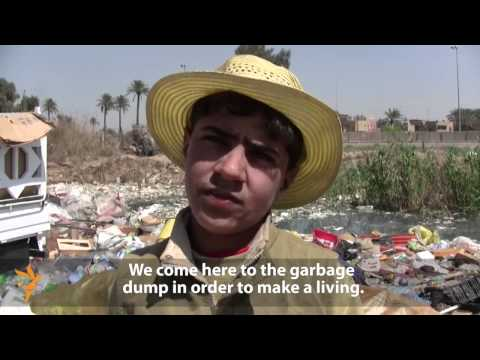 Scraping Together A Living From Garbage In Iraq