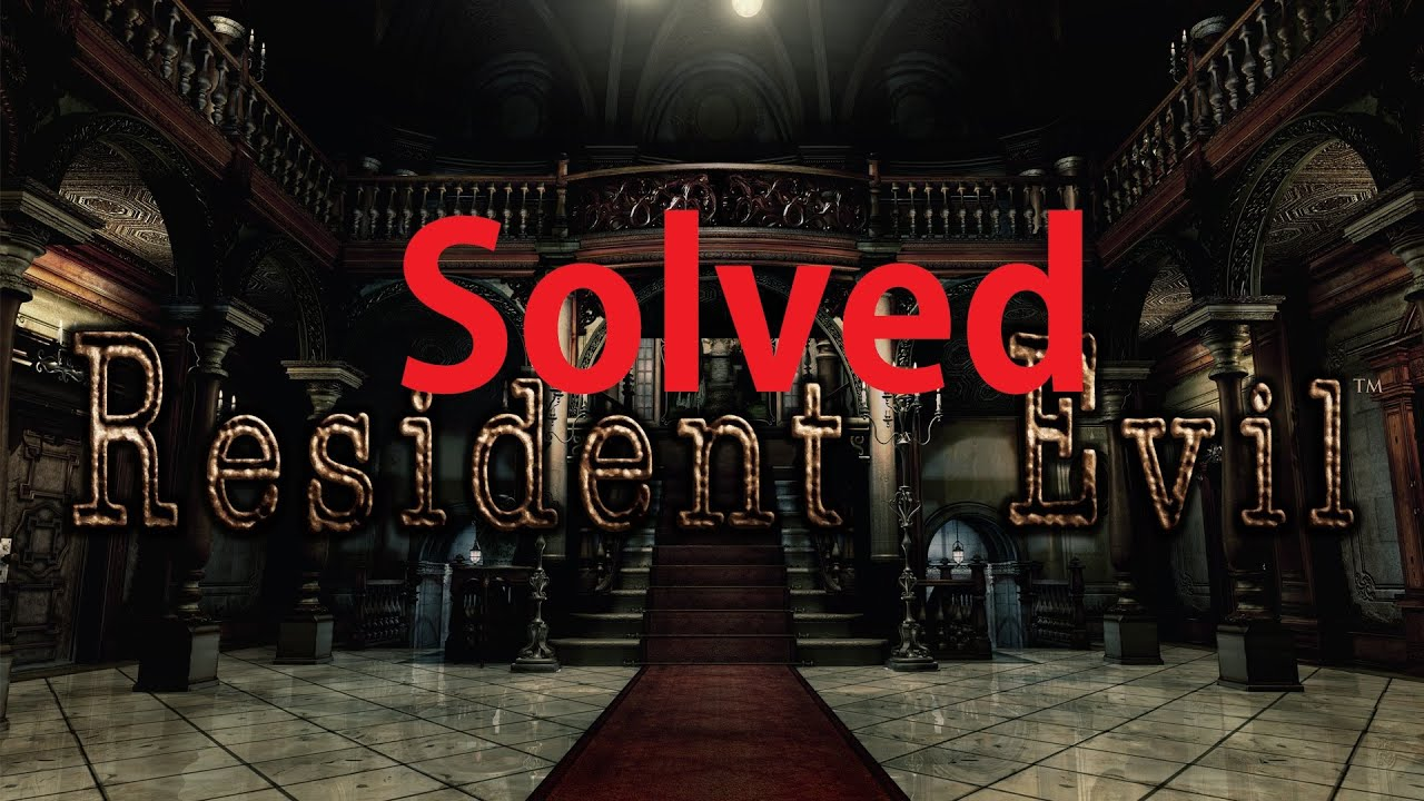 Solved How To Fix 0xc000007b Error In Resident Evil Hd Remaster
