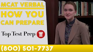 MCAT Verbal Reasoning  - #1 Best MCAT Practice/Prep - TopTestPrep.com