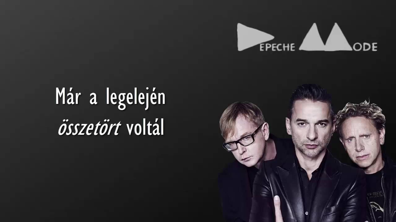 depeche mode idézetek Depeche Mode   Broken magyar felirattal   YouTube