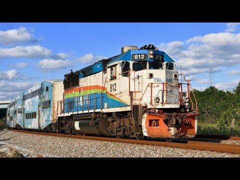 Tri-Rail Commuter Trains!