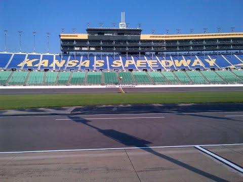 Kansas Speedway- Where did Everyone Go !