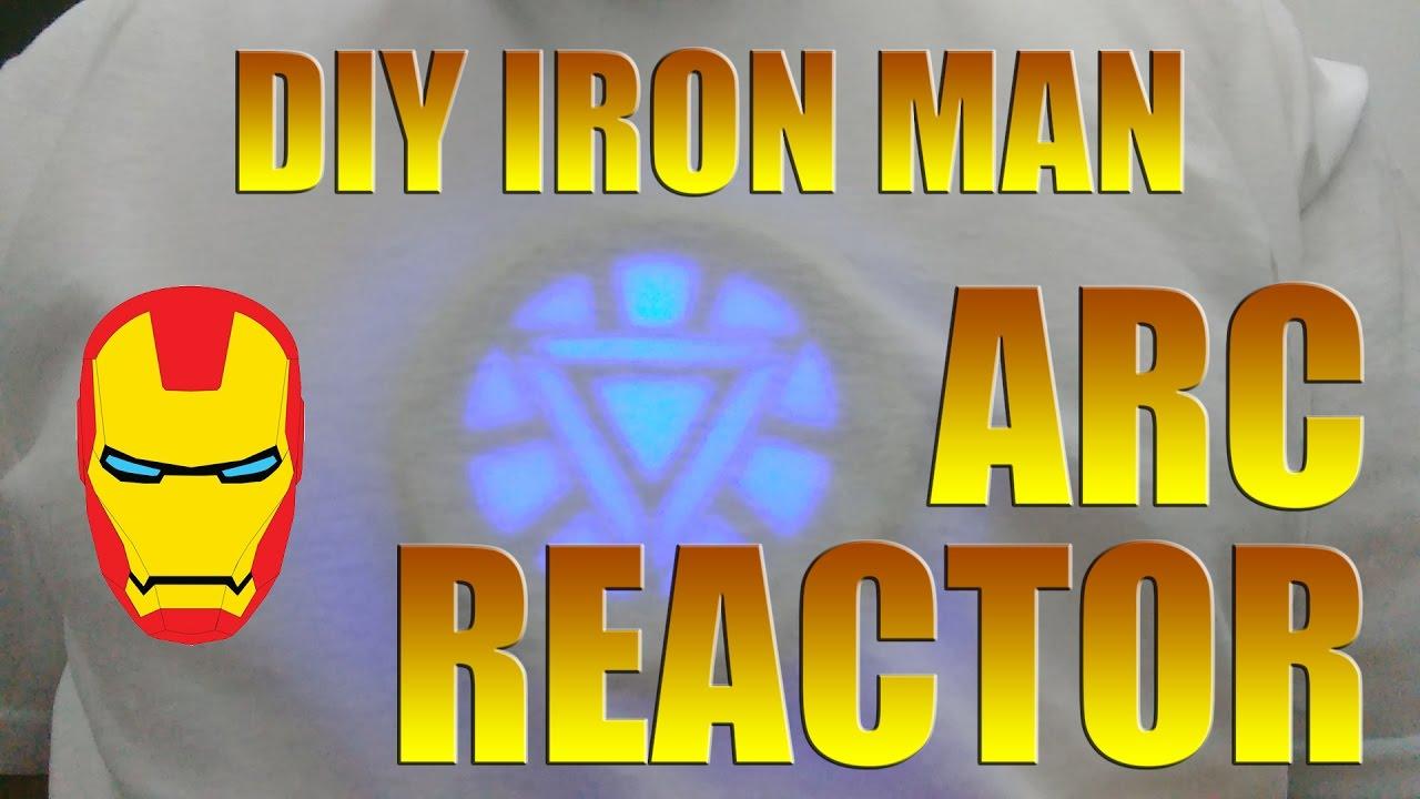 Delightful Iron Man Arc Reactor DIY Prop Replica   How To Build It