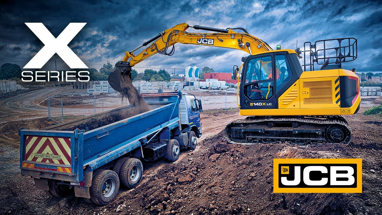 NEXT Series - JCB 131X, 140X and 150X X Series Excavators