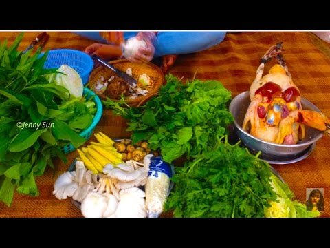Cambodian Home Made Duck Soup Compilation, Home Made Different Kind Of Duck Soups, Food In Asia