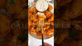 Cauliflower Wings #Shorts #youtubechina