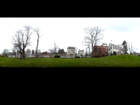 360° VR Time Lapse Egg Hunt @ Lippmann House, Harvard