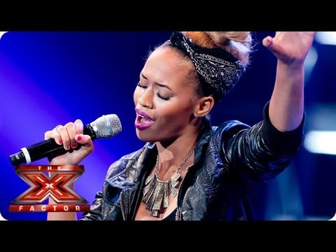 Tamera Foster sings Stay by Rihanna -- Bootcamp Auditions -- The X Factor 2013