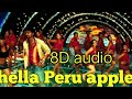 En chella Peru apple song 8D audio pokkiri movie best 8D audio song Tamil