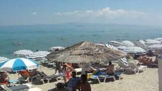 Плаж на Ханиоти, Касандра (Халкидики, Гърция)(Научете повече от он лайн Пътеводител Гърция: http://garcia.patevoditel.bg/, 2010-07-11T20:13:51.000Z)