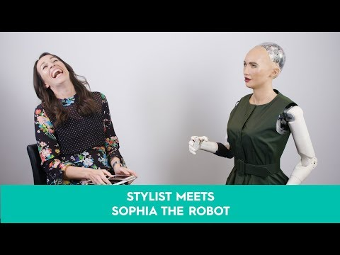 Sophia the robot Interview: Sophia the robot answers Stylist\'s philosophical questions
