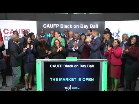 Canadian Association of Urban Financial Professionals open Toronto Stock Exchange, March 14, 2018