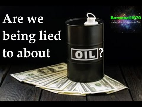 Are we being lied to about OIL? CHECK THIS OUT....