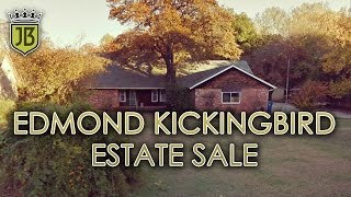 Edmond Kickingbird Estate Sale this Weekend by James Bean