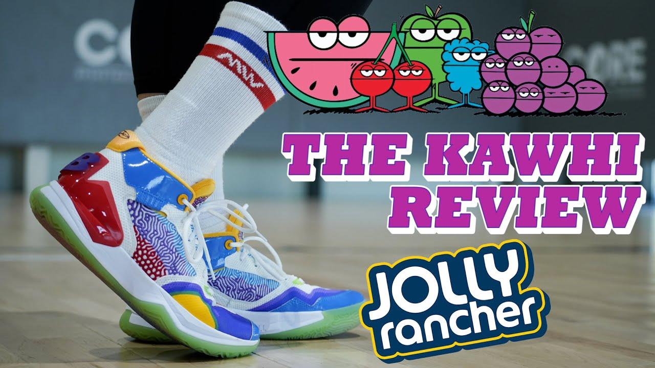 뉴발란스 농구화 카와이 레너드 더 카와이  'Jolly Rancher' 과연 성능은??