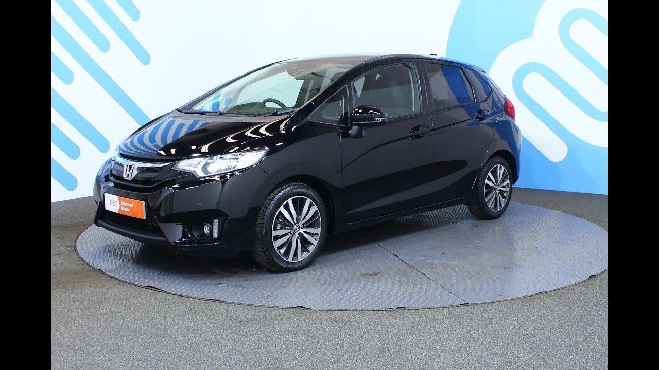 Honda Jazz 13 I Vtec Ex Navi Hatchback Cvt 5dr Startstop Youtube