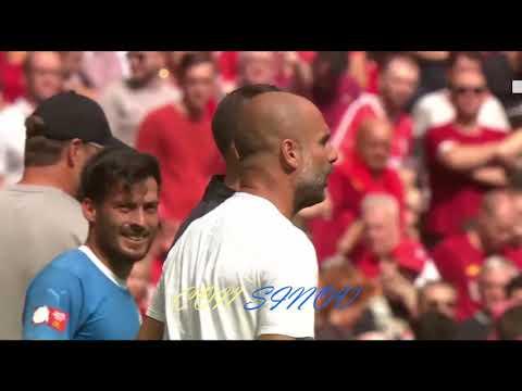 Liverpool vs Manchester City 1-1 (4-5 PENALTI)  Community Shield Kupası