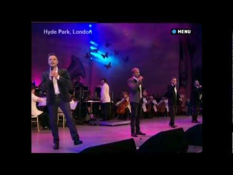 Westlife Live at the BBC Proms Hyde Park Part 1