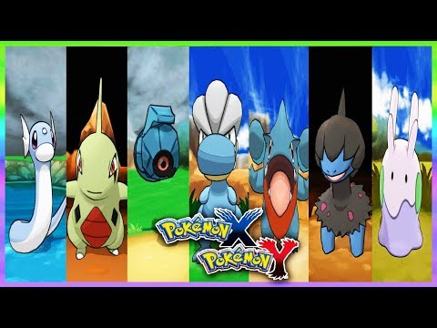 Pokemon X & Y - How To Get Dratini,Larvitar,Beldum,Bagon,Gible,Deino & Goomy