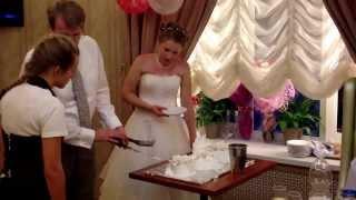 Свадьба Игоря торт 10.08.2013