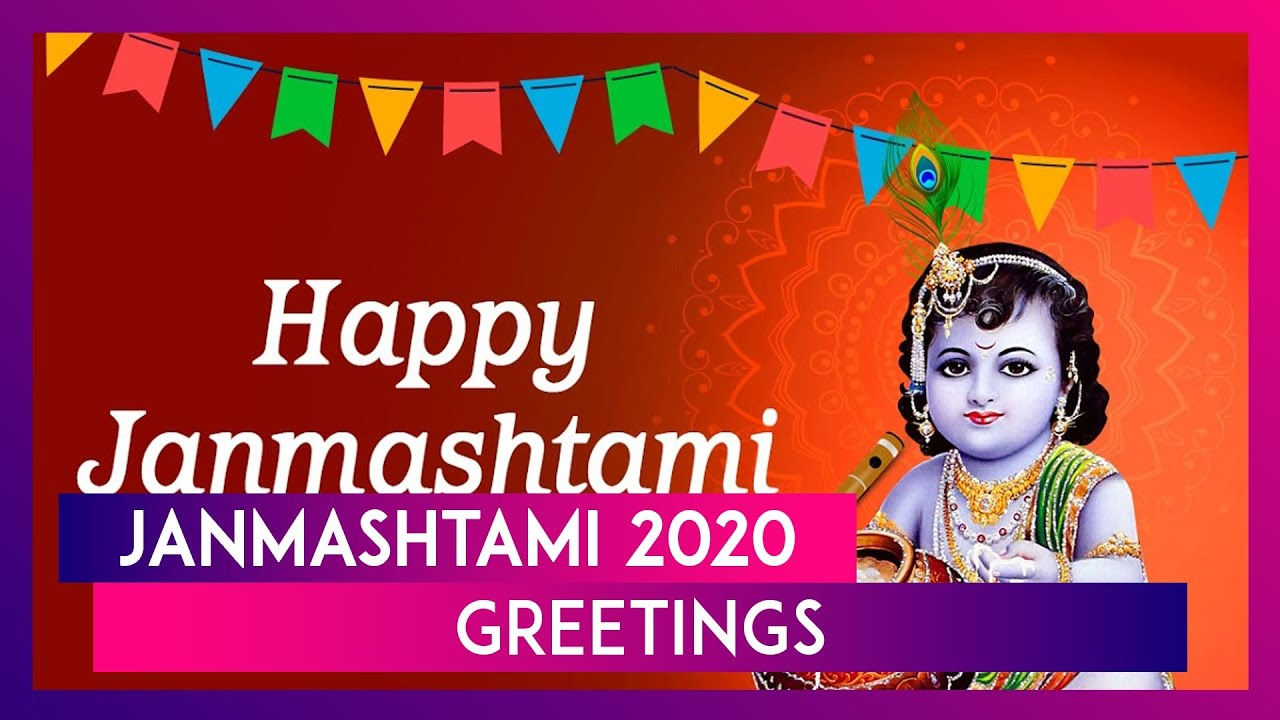 Janmashtami 2020 Greetings: Gokulashtami Wishes & Messages to Celebrate Lord Krishna's Birthday