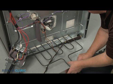 Bake Element - Kitchenaid Double Oven Electric Range #KFED500ESS02