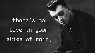 Skies of Rain - Sam Smith (Lyrics)