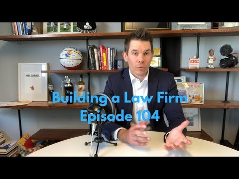 How I Create Systems and Processes | Building a Law Firm 104