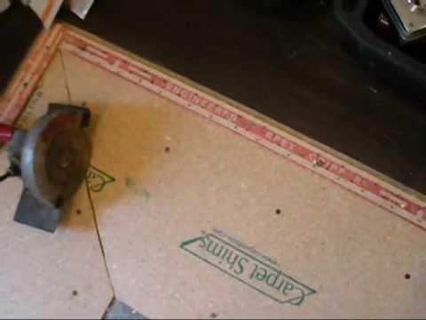 Carpet shims Installation