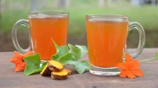 Turmeric Tea Recipe Benefits For Weight Loss, Acne, Inflammation, Cold, Cough & Sore Throat
