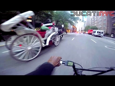 Ebike Dipping across Manhattan, West to East Side - Zooz Electric Motorbike in NYC pt 2 v1152