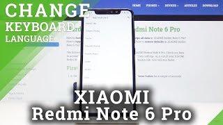 How to Change Keyboard Language in Xiaomi Redmi Note 6 Pro – Keyboard Settings
