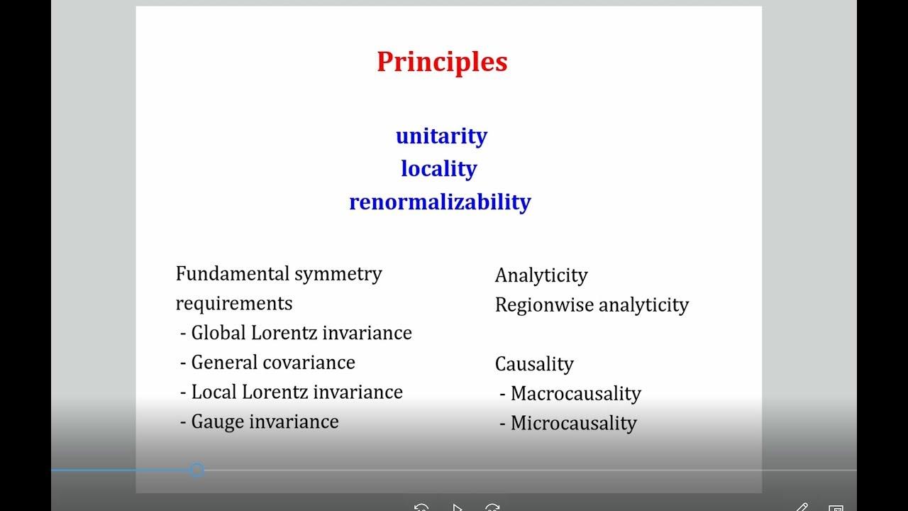 Quantum field theory | RENORMALIZATION