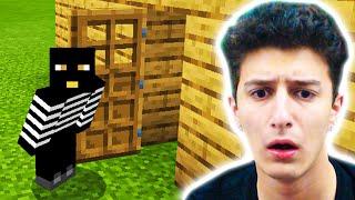 EVİME HIRSIZ GİRDİ 😱 Minecraft 17