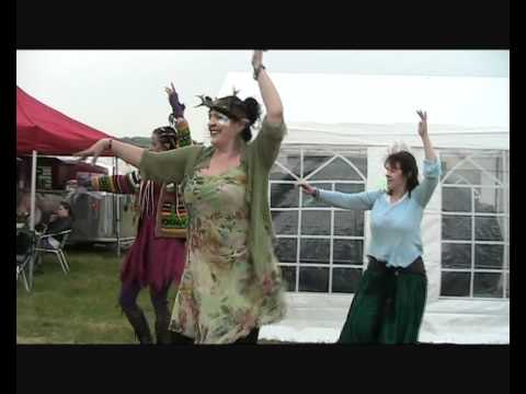 Gypsy Dreams Belly Dance at the Fairy Festival 2012 Part Two