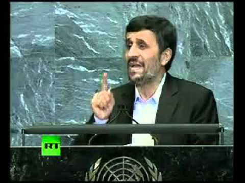 '9 11 was an inside job'  Full speech by Mahmoud Ahmadinejad at UN