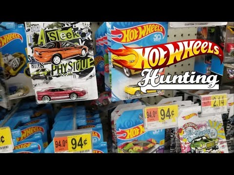 Hot Wheels Hunting - Matchbox & M2 in store video - 2018